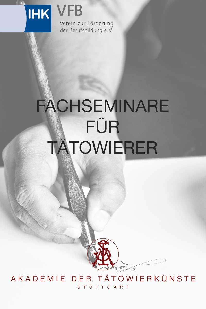 Tattoo Fachseminare