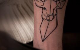 graphic tattoo fineline