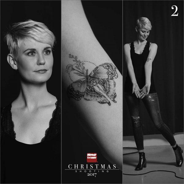Mommy I'm Sorry Christmas Shooting tattoo studio stuttgart